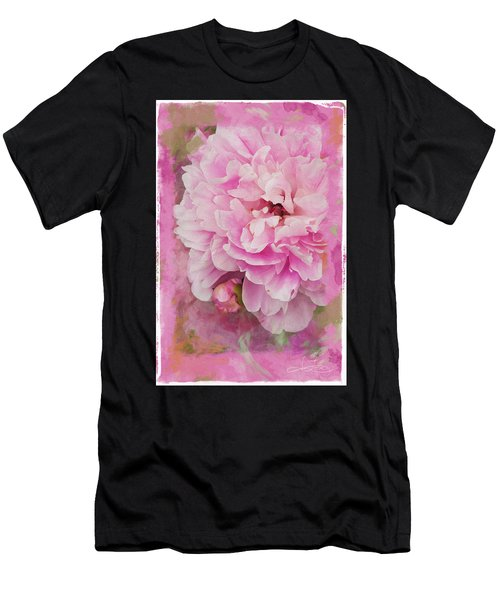 Pink Peony 2 Men's T-Shirt (Athletic Fit)