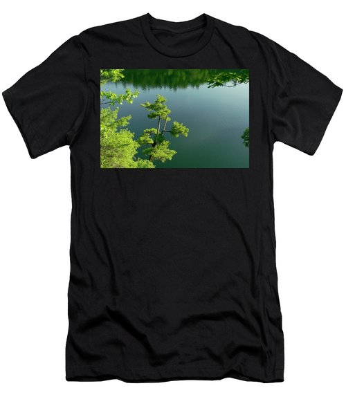 Pink Pine Men's T-Shirt (Athletic Fit)