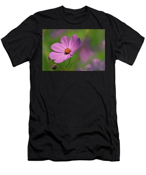 Pink Profile Men's T-Shirt (Athletic Fit)