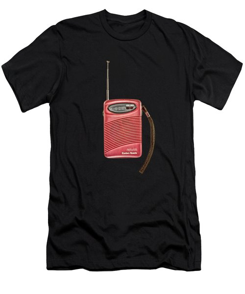 Pink Radio Men's T-Shirt (Athletic Fit)