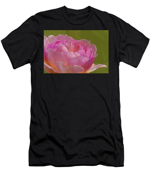 Pink Rose #d3 Men's T-Shirt (Athletic Fit)
