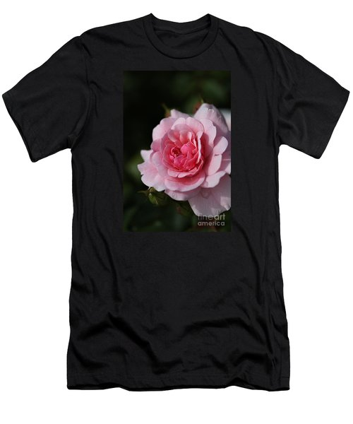 Pink Shades Of Rose Men's T-Shirt (Athletic Fit)
