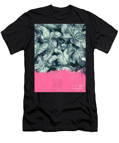 Pink Sorbet On Jungle Men's T-Shirt (Athletic Fit)