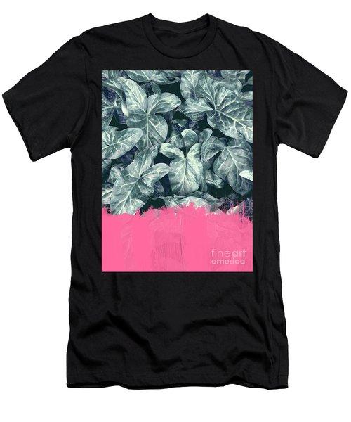 Pink Sorbet On Jungle Men's T-Shirt (Athletic Fit)