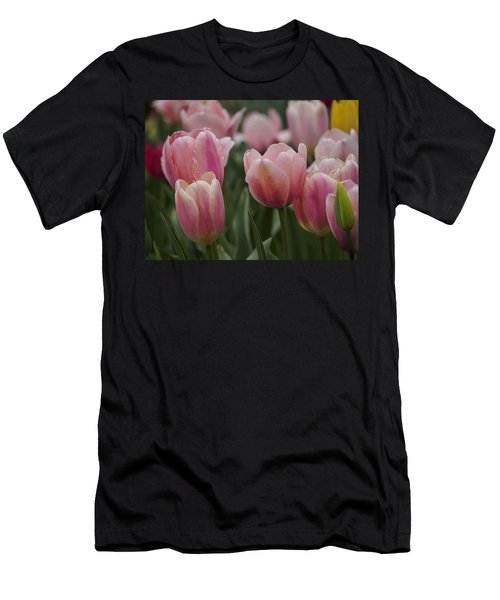 Pink Spring Men's T-Shirt (Athletic Fit)