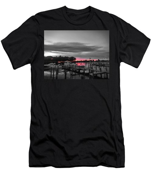 Pink Sunset Men's T-Shirt (Athletic Fit)
