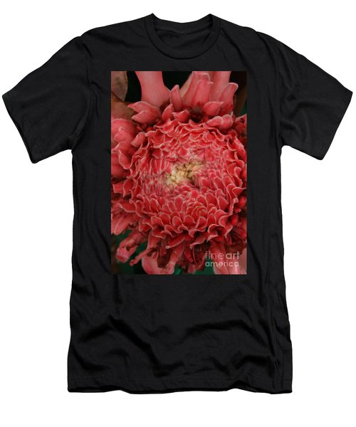 Pink Torch Ginger 1 Men's T-Shirt (Athletic Fit)