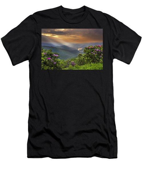 Pinnacle Sunset  Men's T-Shirt (Athletic Fit)