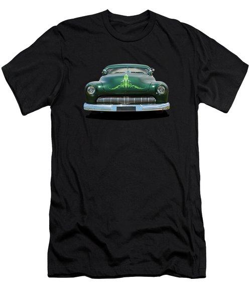 Pinstripes Men's T-Shirt (Athletic Fit)