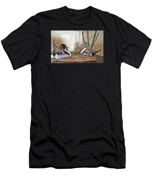 Pintail Ducks Men's T-Shirt (Athletic Fit)