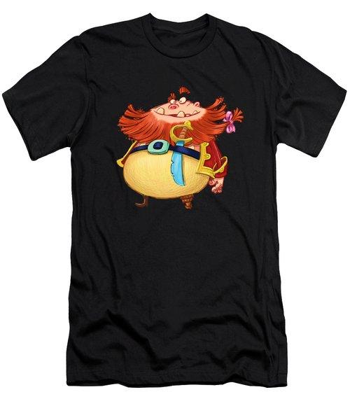 Pirate Captain Men's T-Shirt (Athletic Fit)