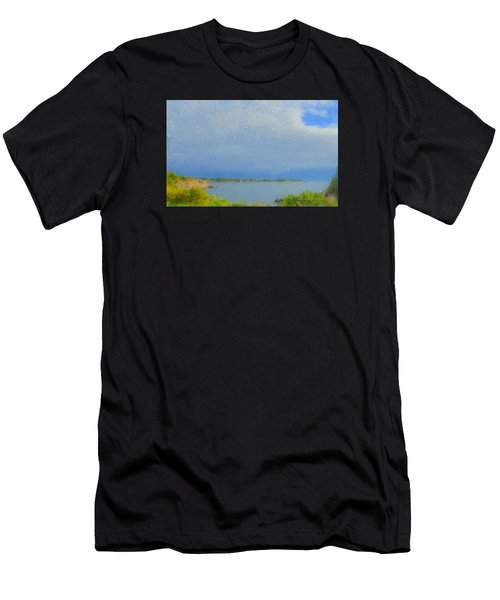 Pirate Cove Jamestown Ri Men's T-Shirt (Athletic Fit)