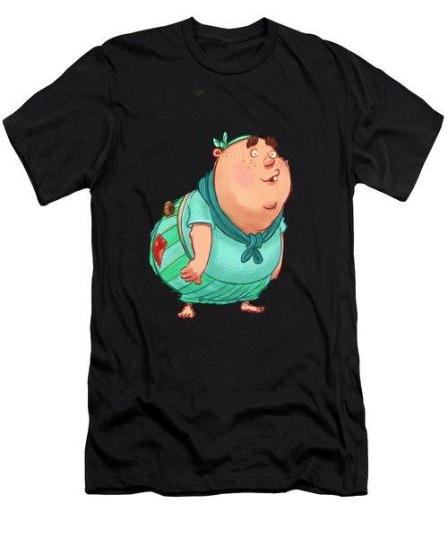 Pirate Doof Men's T-Shirt (Athletic Fit)