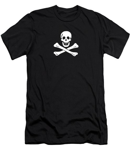 Pirate Flag Tee Men's T-Shirt (Athletic Fit)