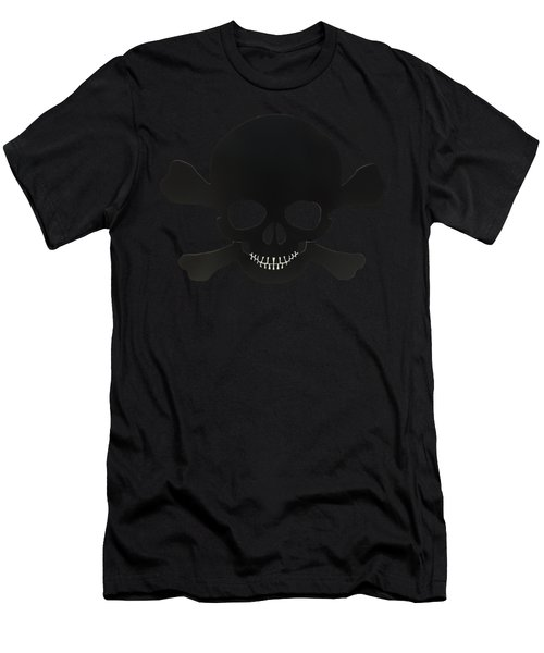 Pirate Skull And Crossbones Men's T-Shirt (Athletic Fit)