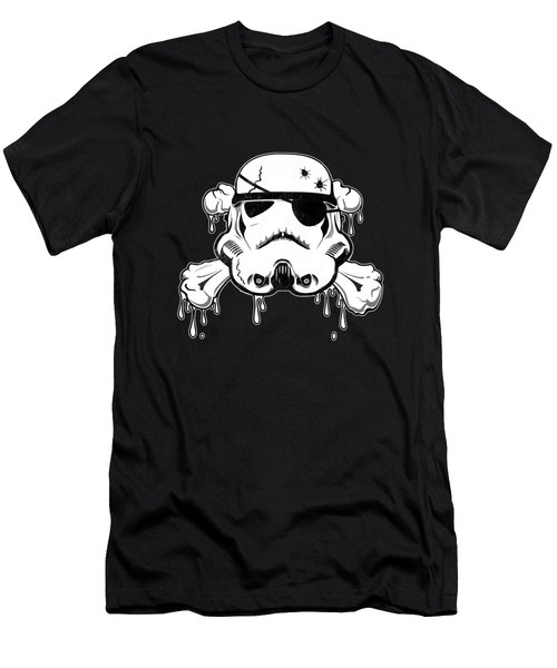 Pirate Trooper Men's T-Shirt (Slim Fit) by Nicklas Gustafsson