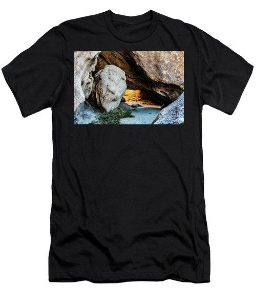 Pirate's Cave Men's T-Shirt (Athletic Fit)