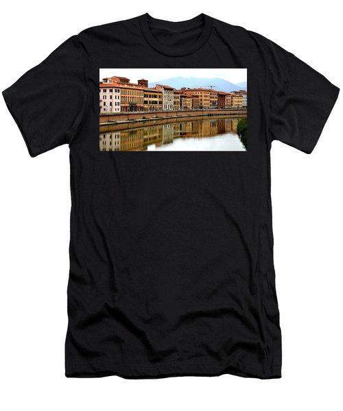 Pisa Reflections Men's T-Shirt (Athletic Fit)