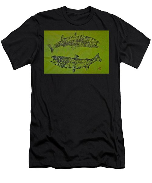Pisces Rising  Steelhead Salmon Men's T-Shirt (Athletic Fit)