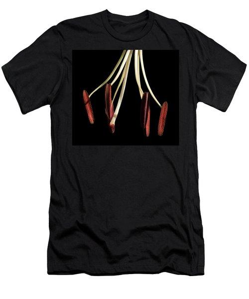 Pistil And Stamen Tiger Lily Men's T-Shirt (Athletic Fit)