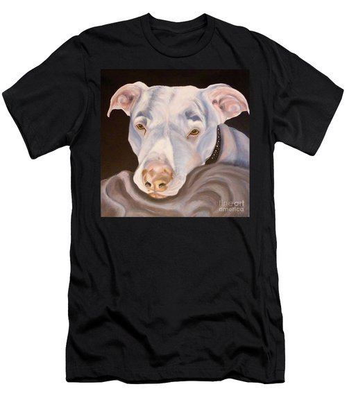 Pit Bull Lover Men's T-Shirt (Athletic Fit)