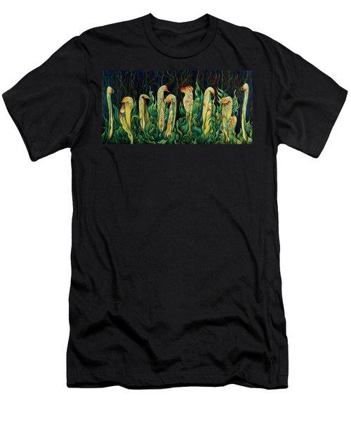 Pitcher Plant Promenade  Men's T-Shirt (Athletic Fit)