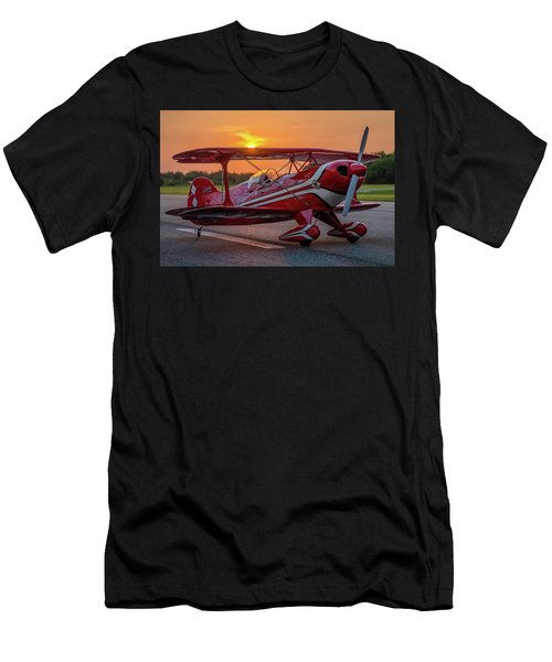 Pitts Sunset Men's T-Shirt (Athletic Fit)