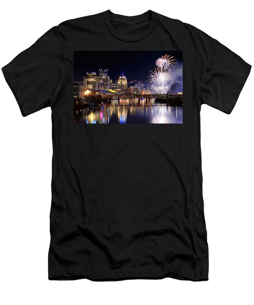 Pittsburgh 1  Men's T-Shirt (Athletic Fit)