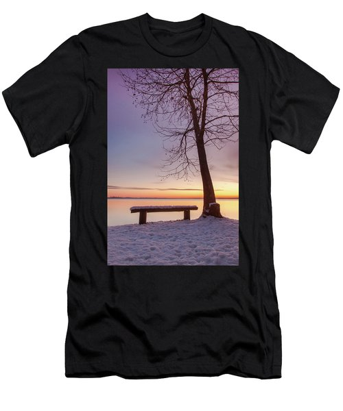 Men's T-Shirt (Athletic Fit) featuring the photograph Place For Two by Davor Zerjav