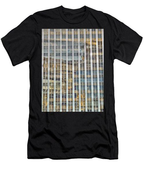 Plaid Light In La Men's T-Shirt (Athletic Fit)