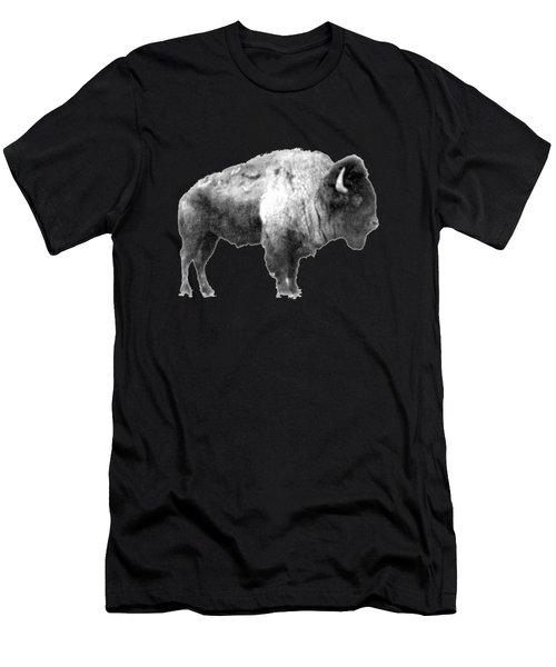 Plains Bison Men's T-Shirt (Athletic Fit)