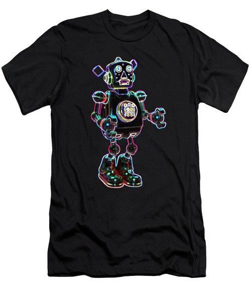 Planet Robot Men's T-Shirt (Athletic Fit)