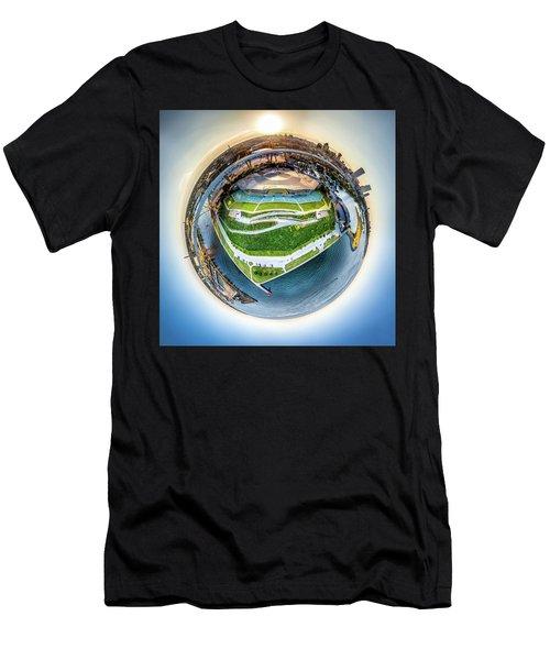 Planet Summerfest Men's T-Shirt (Athletic Fit)
