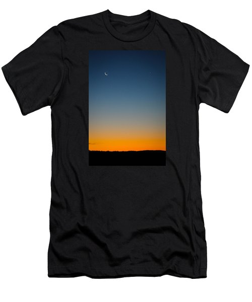 Planet Sunrise Men's T-Shirt (Athletic Fit)