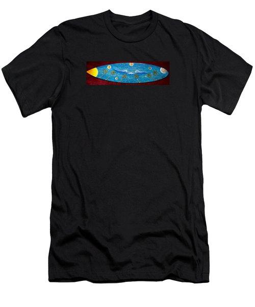 Planet Surf  Men's T-Shirt (Athletic Fit)