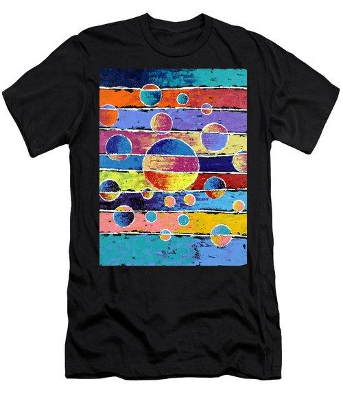 Planet System Men's T-Shirt (Athletic Fit)