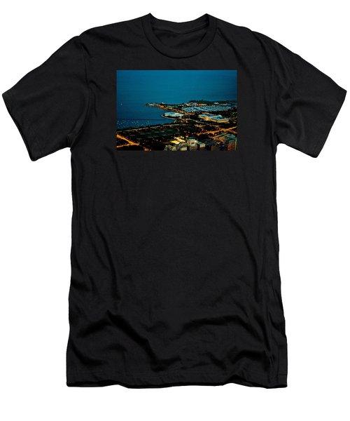 Planetarium And Aquarium Men's T-Shirt (Slim Fit) by Richard Zentner