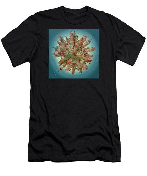 Planetoid Men's T-Shirt (Athletic Fit)