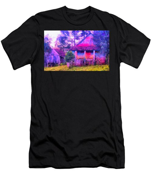 Plank Homes Men's T-Shirt (Athletic Fit)