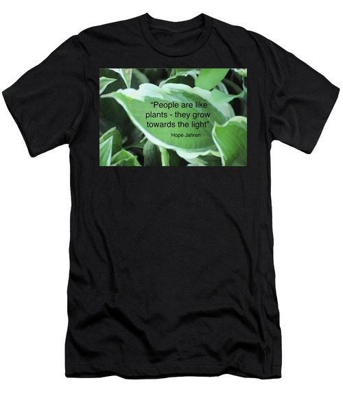 Plants Men's T-Shirt (Slim Fit) by Lisa DiFruscio