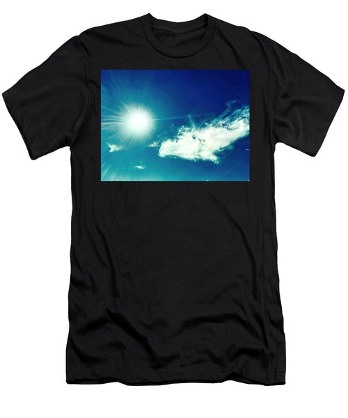Platinum Rays And Angelic Cloud Bless The Prairie Men's T-Shirt (Athletic Fit)