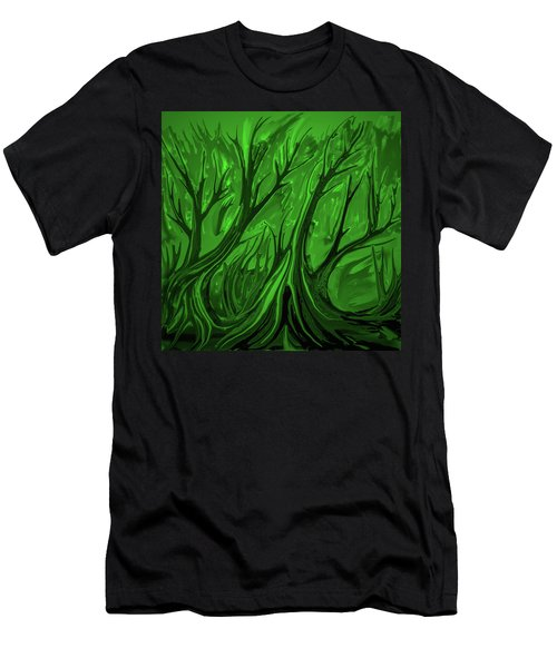 Play Green #h6 Men's T-Shirt (Athletic Fit)
