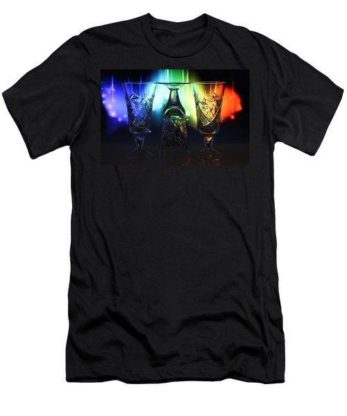 Play Of Glass And Colors Men's T-Shirt (Athletic Fit)