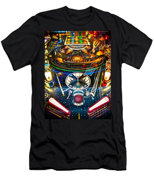 Play Pinball Men's T-Shirt (Athletic Fit)