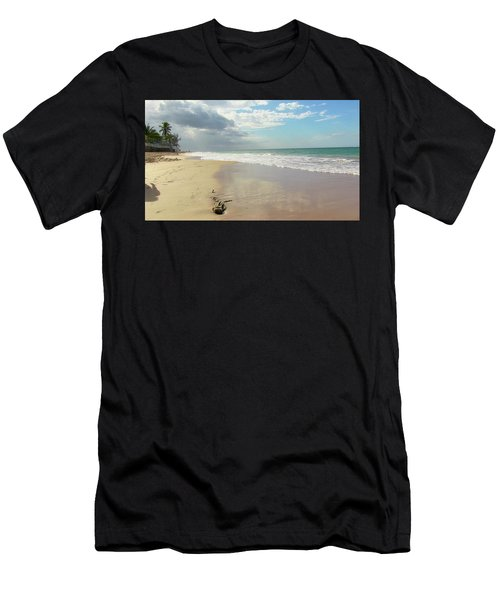 Playa El Ultimo Trolly Men's T-Shirt (Athletic Fit)