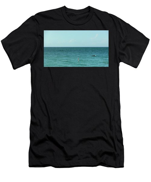 Playa Punta Las Marias Men's T-Shirt (Athletic Fit)