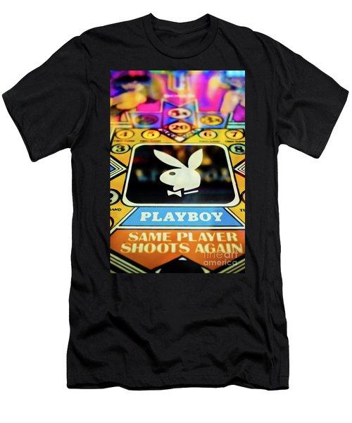 Playboy Pinball Men's T-Shirt (Athletic Fit)