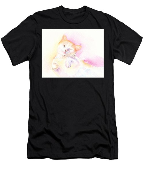 Playful Cat II Men's T-Shirt (Athletic Fit)