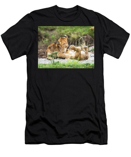Playing Around Men's T-Shirt (Athletic Fit)