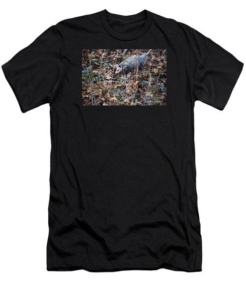 Playing Possum Men's T-Shirt (Athletic Fit)